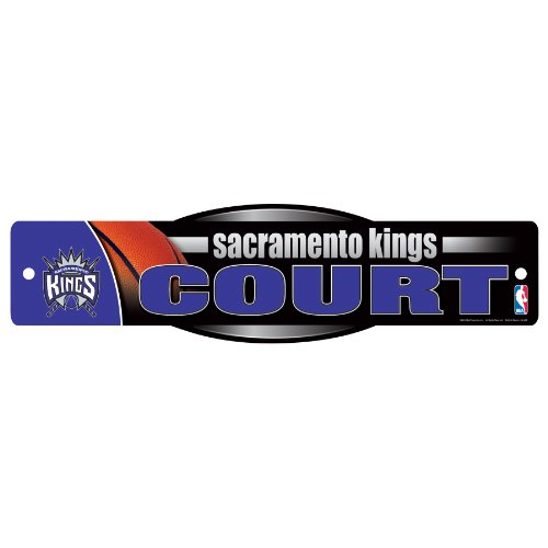 NBA Sacramento Kings Sign, 4.5 x 17-Inch by WinCraft