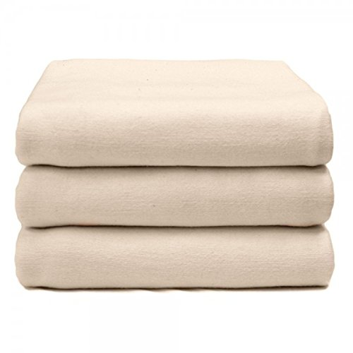 Elivo Hospital Bed Bath Blankets - Ideal for Warmth and Privacy during Bed Baths - Made of High Quality Cotton - Work Great as, Recovery, Thermal or Utility Blankets - 3 Pack