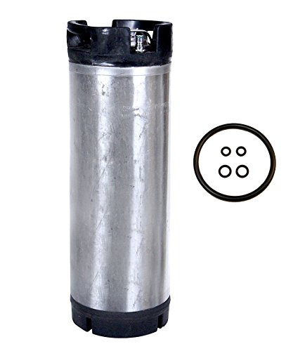 5 Gallon Ball Lock Keg (reconditioned) Used Keg with o-rings (Pony Keg)