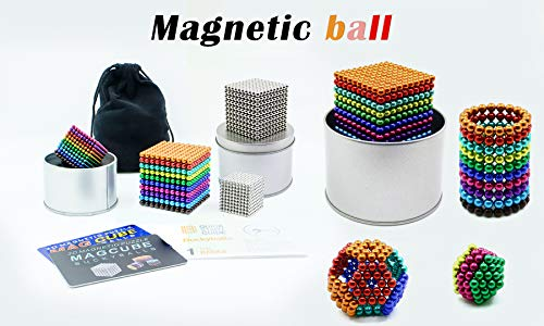 HBDeskToy 1000 Fidget Ball Puzzle,Brain Teasers for Adults,Stress Relievers for Adults,Office Toy,Desk Toys for Office for Adults,Sculpture Building Blocks Toys for Intelligence Learning -Office Toy by HBDeskToy (Image #6)