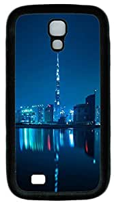 Samsung S4 Case Beautiful city at night 03 TPU Custom Samsung S4 Case Cover Black