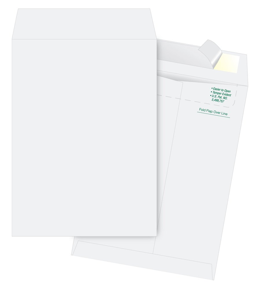 Quality Park Envelope with Flap-Stik, Plain, 10 x 13 Inches, 100 per Box, White (QUAS3620)