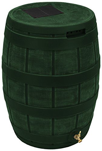 Good Ideas RVT-GRN Rain Vault Rain Barrel, Green ()