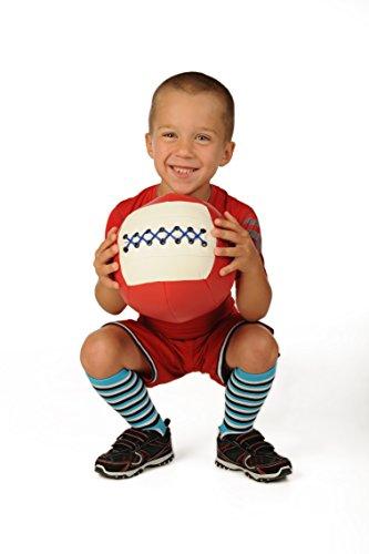 WOD Toys Med Ball Mini – Safe, Durable Medicine MedBall for Kids Fitness