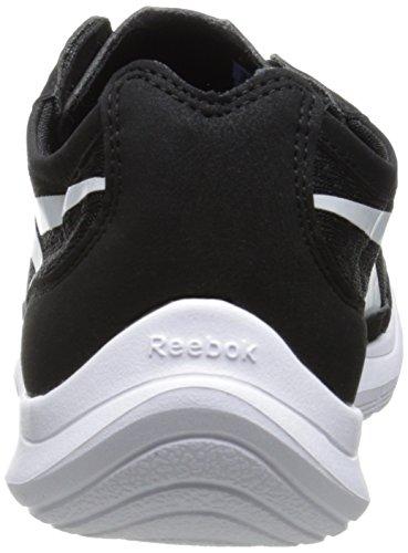 Reebok Donna Sport Avanti Azione Rs Scarpe Da Passeggio Nero / Bianco
