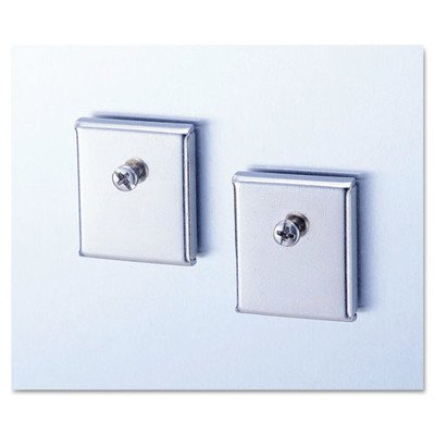 Cubicle Accessory Mounting Magnets (2 Pack) [Set of 3] by Universal