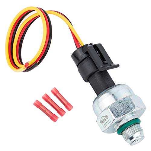 1807329C92 7.3 ICP Sensor for 1997-2003 Ford 7.3L Powerstroke Diesel,Injector Control Pressure Sensor+Pigtail Wiring Harness Replace# ICP102