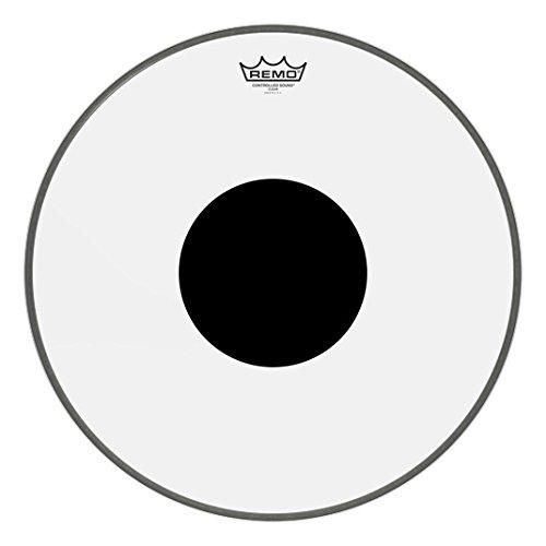 Remo 18 Trans W/Wht Dot Bass ()
