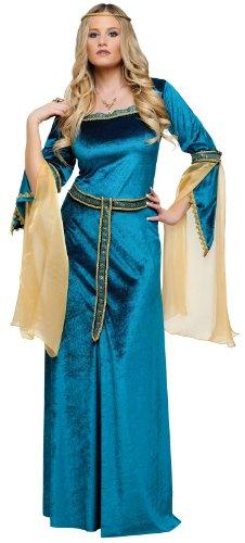 FunWorld Renaissance Princess Diamond Collection, Blue, 8-10 Medium -