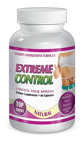 SliMax Extreme Control 60 capsules Weight Management Formula, Dietary supplement for 30 days, Control Your Appetite by SliMaxUSA