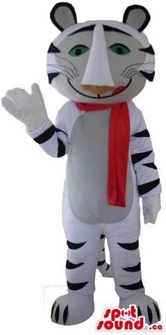 エレガントな極性タイガーSpotSoundマスコットカナダ衣装野生動物の仮装