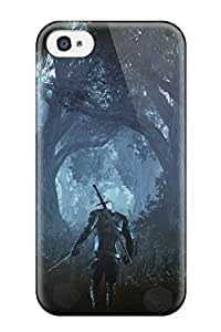 Awesome VYPQNuZ9539bhdQS GrayAnnys Defender Tpu Hard Case Cover For Iphone 4/4s- The Witcher