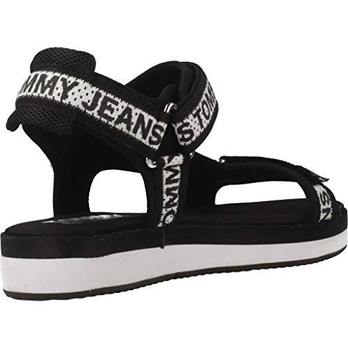 Jeans Y Tommy Marca Mujer Sandalias Negro En0en00568 Modelo Jeans Color Para Negro Mujer Chanclas 6wAdAUxqP
