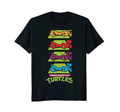 Teenage Mutant Ninja Turtles Paneled Faces T-Shirt]()