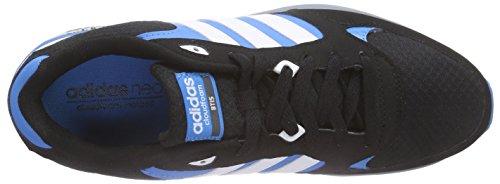 adidas Cloudfoam 8tis, Zapatillas de Deporte Exterior para Hombre Negro / Blanco / Azul (Negbas / Ftwbla / Azusol)
