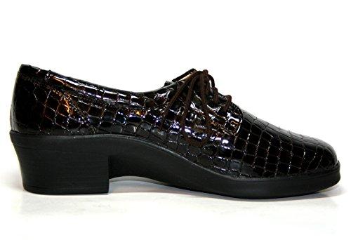 Ganter , Chaussures de ville à lacets pour femme Marron Espresso 36