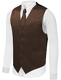Amazon.com: Brown - Vests / Suits & Sport Coats: Clothing, Shoes