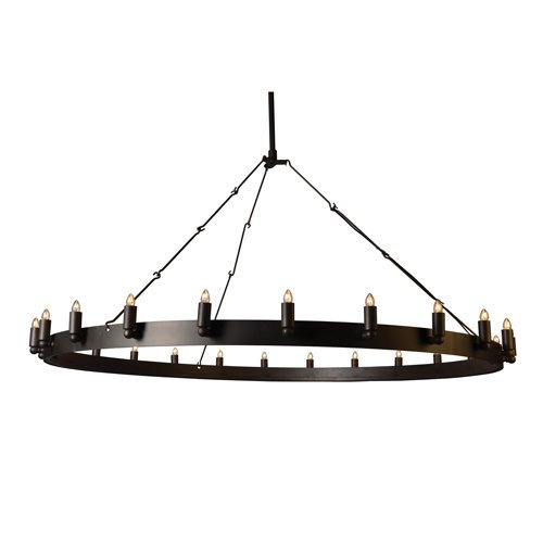Twenty Four Light Chandelier - Y-Decor LZ604824 Modern, Transitional, Traditional, Brown Y Décor 24 Light Iron Grey Chandelier