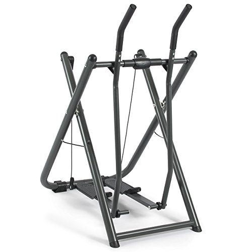 Akonza Elliptical Glider Machine Sports Fitness Exercise Trainer w/Pedometer, Fold able