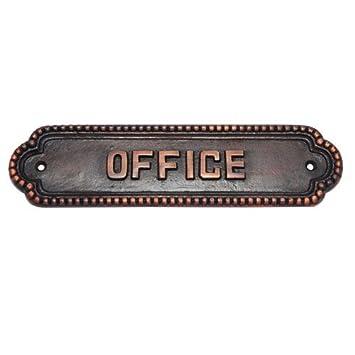 Amazon.com: Adonai hardware grande Oficina Cartel para ...