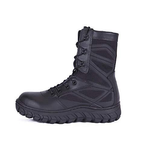 d407e58d black Gtyw Cintura Hombres Botas Con 39 Cordones 44 Alta Transpirables De  Caminar Combate Zapatos 40 Tácticos Para ...