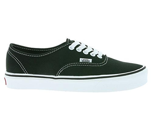Baja Canvas Plus White Black Unisex Adulto Negro lite Vans Zapatilla Authentic 8w7nfqIqF