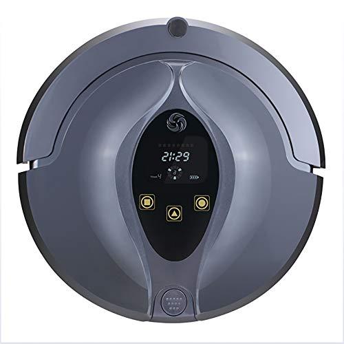 HUIJIN1 Aspirador robótico 3-en-1, Aspirador Fuerte de la succión del Robot automático 1200Pa, batería 2200mAh, estación...