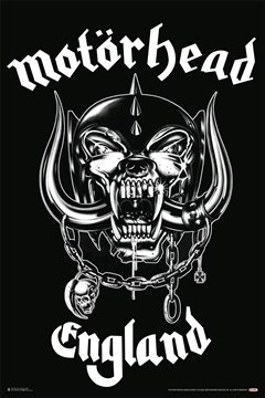 Motorhead- Made In England Poster 24 x 36in