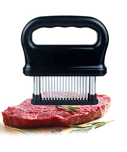 Meat Tenderizer Tool, 48 Ultra Sharp Needle for Turkey, Meat, Steak, Pork, Beef