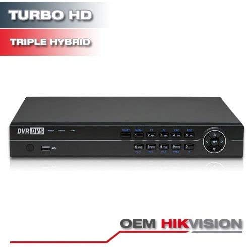 Hikvision OEM  8CH DVR TURBO-HD 4IN1 Recorder