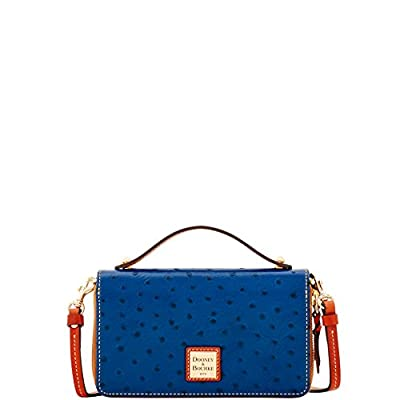 Dooney & Bourke Ostrich Willis Convertible Clutch Wallet