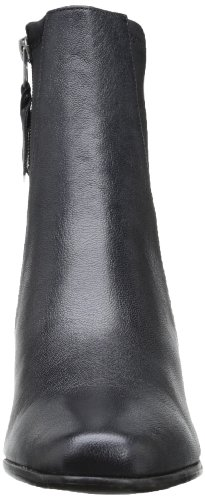 Leather Black Ankle Boot Janet Trotters Pearlized Women's wxngYnqI