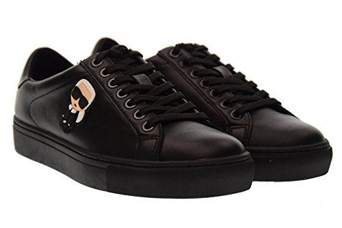 Karl Lagerfeld Kupsole Karl Ikonik Lo Blonder Damer Sneaker Sort Sort gQRE0bvj