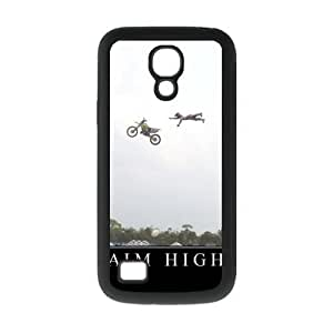 Aim High Fantastic Funny Style Rubber and Plastic Case Cover for Galaxy S4 Mini I9192/I9198