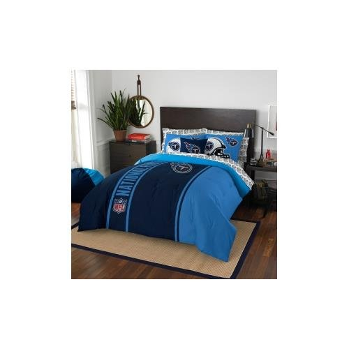 NFL Tennessee Titans Soft & Cozy 7-Piece Full Size Bed in a Bag Set by Northwest
