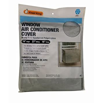 air conditioning covers outside. frost king ac2h outside window air conditioner cover, 18 x 27 16-inch conditioning covers