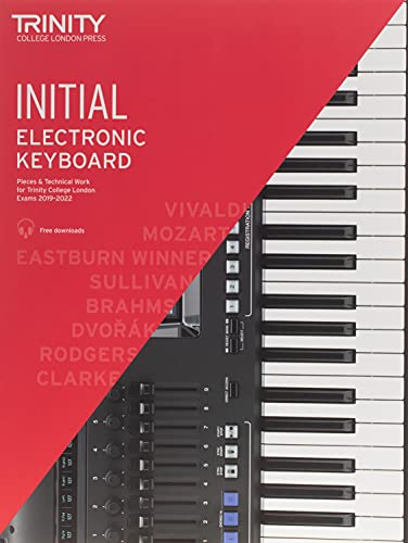 Trinity College London Electronic Keyboard Exam Pieces & Technical Work 2019–2022: Initial Grade