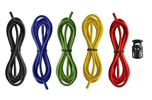 arena Unisex Ersatz Kopfbänder für Schwimmbrillen (5 Farben, Einfache Anbringung), Multicolour (10), One Size