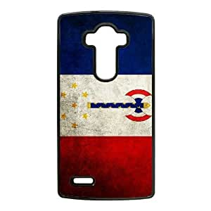 French flag_014 TPU Case Cover for LG G4 Cell Phone Case Black