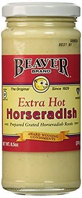 Beaver Hot Horseradish, 8.5 oz