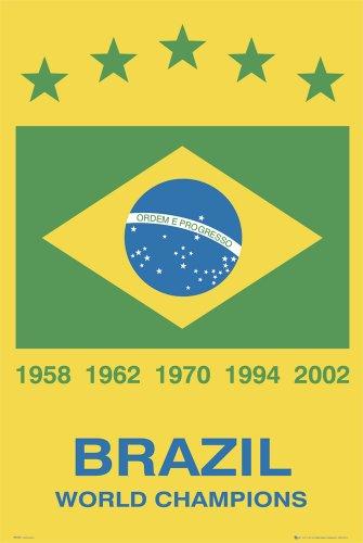 Brazil Soccer Team | Classic Poster