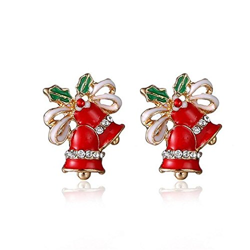 Women Earings Christmas Earrings Jewelry Earrings Women Dangle Earring Year Gift Earring (Germany Clip Earrings)
