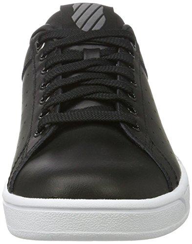 K-swiss Vrouwen Clean Rechter Fashion Sneaker Zwart / Wit