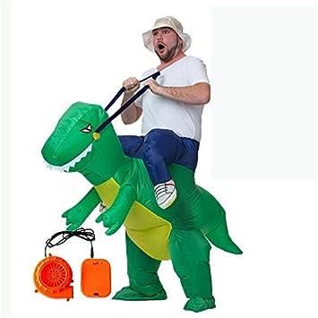 DMGF Dinosaurio Inflable Traje De Jinete Fiesta De Navidad ...