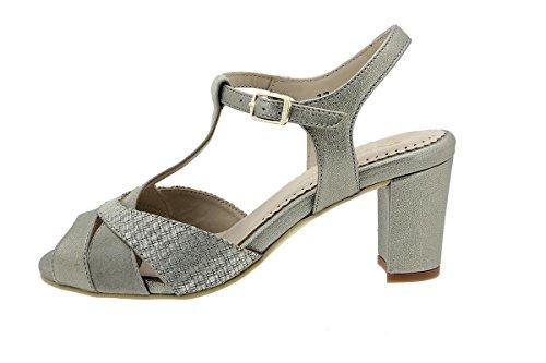 Piesanto Confort Chaussure Sandales Talons A Multicolore Visón Femme venus 180258 qq7Rvaw