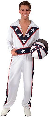 De disfraz de grupo de Evel Knievel doble (de juguete con casco ...