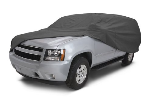Classic Accessories 10-019-261001-00 OverDrive PolyPro III Heavy Duty Full Size SUV/Truck Cover