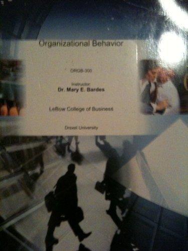 Organizational Behavior: ORGB 300