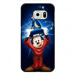 Samsung Galaxy S6 Edge Plastic Funda,Funda For Mickey Mouse,TPU Back Hard Protection Funda For Samsung Galaxy S6 Edge