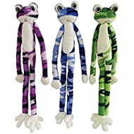 Ryan's Pet Supplies Dawgeee Toy Cool Camo Frog, 22in